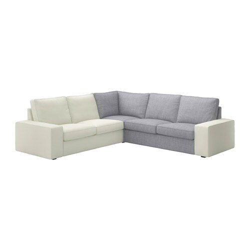 Kivik corner section isunda gray ikea - Kivik corner section ...