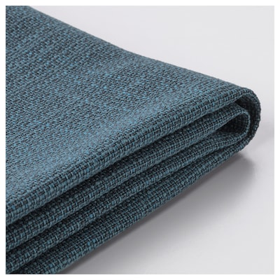 KIVIK Cover for ottoman with storage, Hillared dark blue