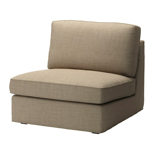 Kivik cover one seat section isunda beige ikea - Fauteuil 1 place ikea ...