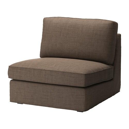 kivik cover one seat section isunda brown ikea. Black Bedroom Furniture Sets. Home Design Ideas