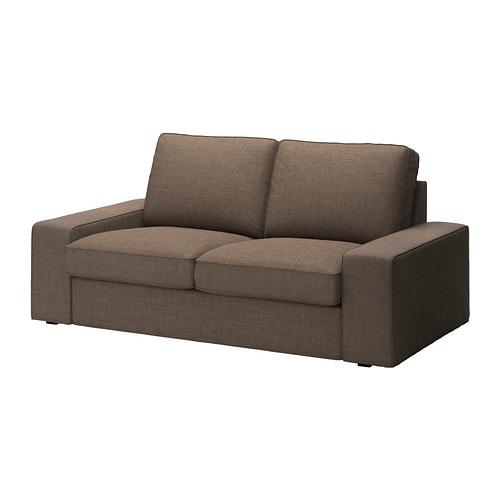 Kivik Loveseat Isunda Brown Ikea
