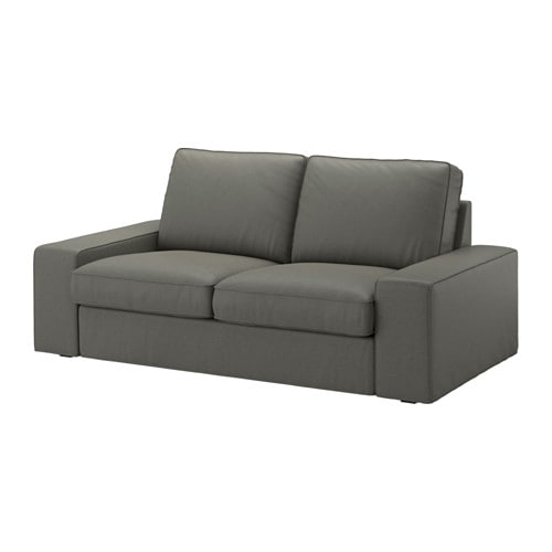 Kivik Loveseat Borred Gray Green Ikea