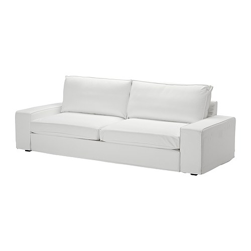 KIVIK Sofa bed slipcover, Blekinge white