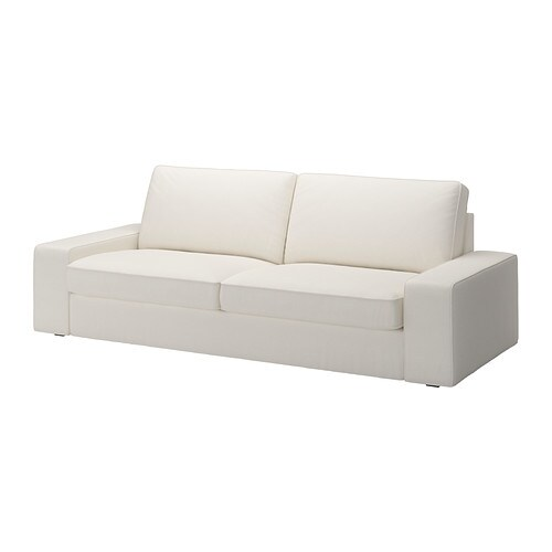 kivik sofa dansbo white ikea. Black Bedroom Furniture Sets. Home Design Ideas