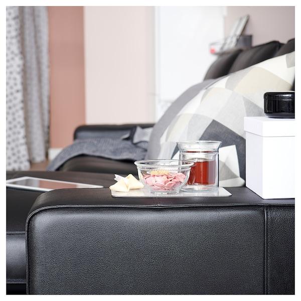 KIVIK Sofa, with chaise/Grann/Bomstad black
