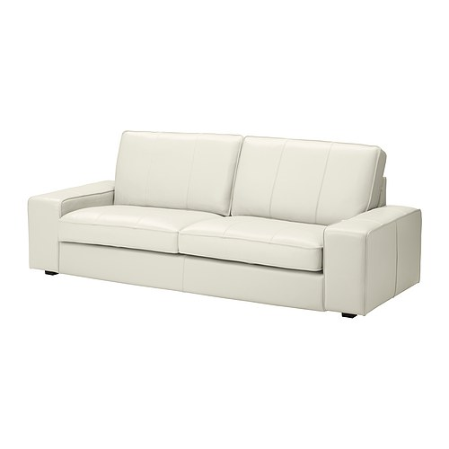 Ikea White Leather Couch Sofas: Grann/Bomstad White