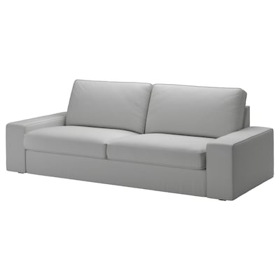 "KIVIK sofa Orrsta light gray 89 3/4 "" 37 3/8 "" 32 5/8 "" 70 7/8 "" 23 5/8 "" 17 3/4 """