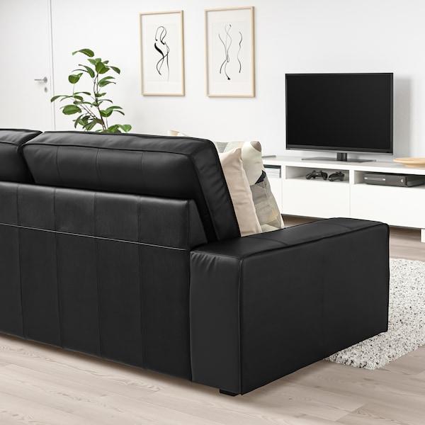 """KIVIK sofa Grann/Bomstad black 89 3/8 """" 37 3/8 """" 32 5/8 """" 70 7/8 """" 23 5/8 """" 17 3/4 """""""