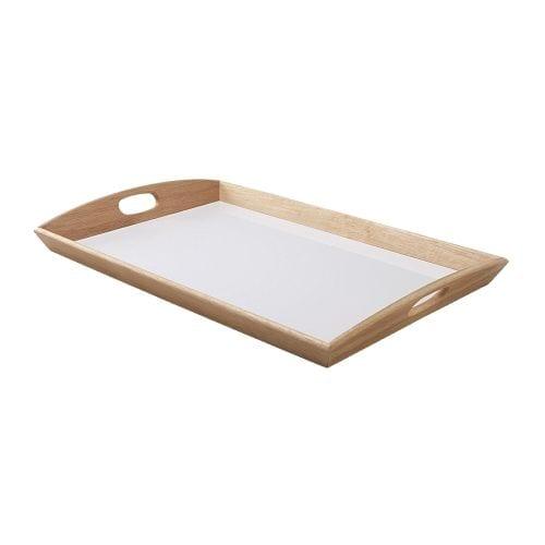 KLACK Tray, rubberwood
