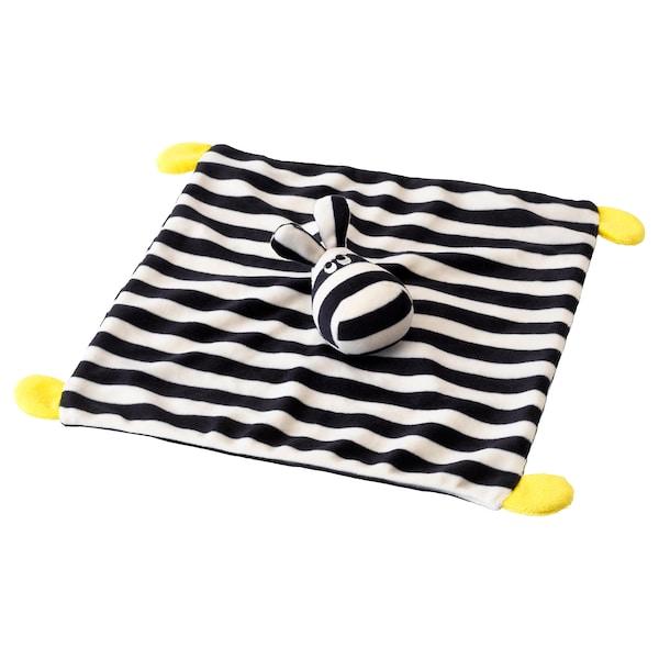 "KLAPPA Snuggle blanket with soft toy, 11x11 """