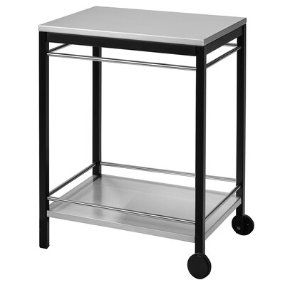 KLASEN Serving cart, outdoor, stainless steel