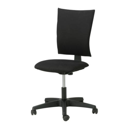 KLEMENS Swivel chair IKEA Height adjustable for a comfortable sitting posture.  Backrest is height adjustable.