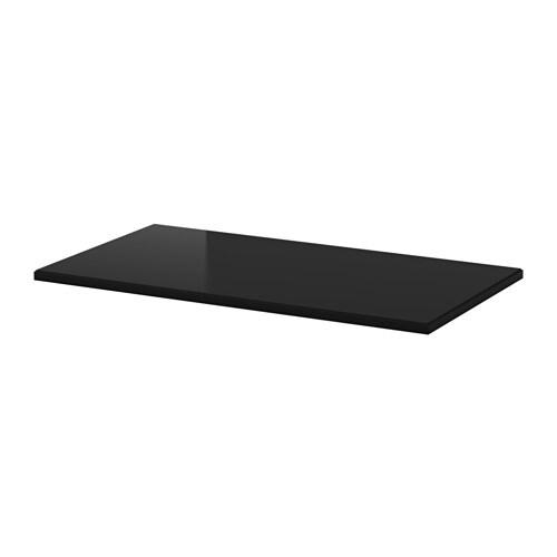 klimpen table top black ikea. Black Bedroom Furniture Sets. Home Design Ideas