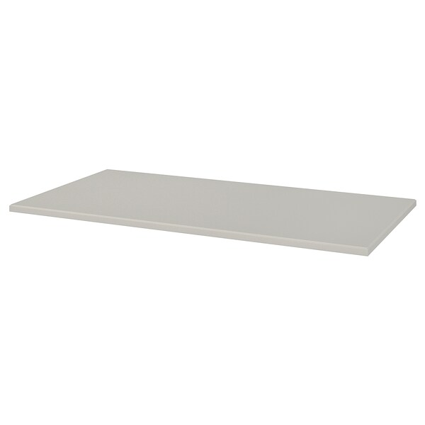 """KLIMPEN tabletop light gray 59 """" 29 1/2 """" 1 1/8 """" 110 lb"""