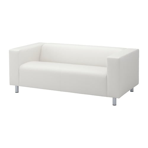 klippan loveseat bomstad white ikea. Black Bedroom Furniture Sets. Home Design Ideas