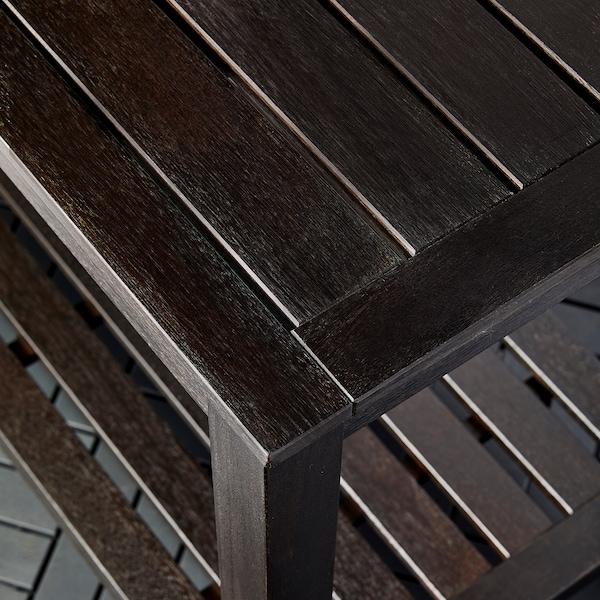 KLÖVEN Sideboard with ice bucket, outdoor dark brown