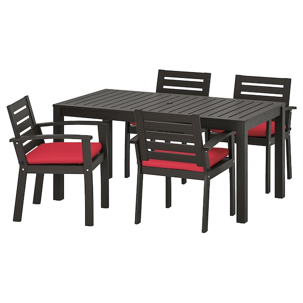 KlÖven Table And 4 Armchairs Outdoor