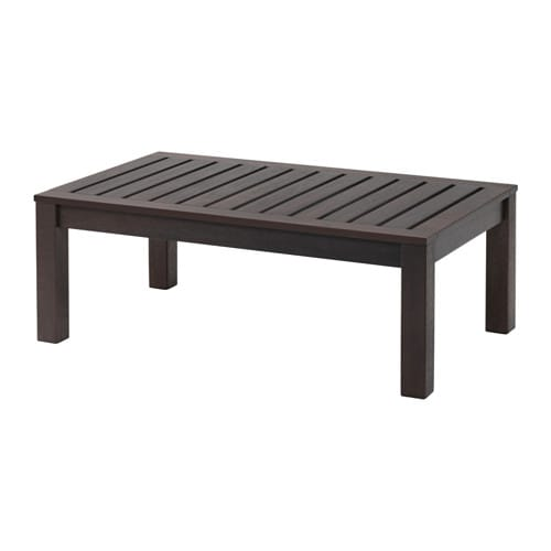 Kl ven coffee table outdoor ikea - Table basse d exterieur ...