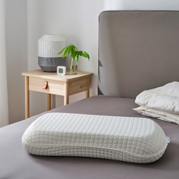 KLUBBSPORRE Ergonomic pillow, multi position, Queen