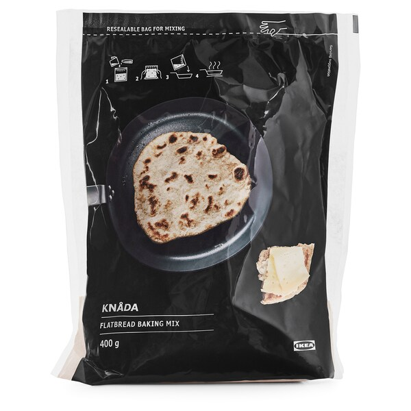 KNÅDA Bread mix, pan fried bread, 14 oz