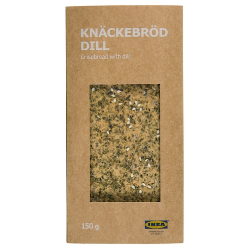 KNÄCKEBRÖD DILL crispbread with dill 5 oz