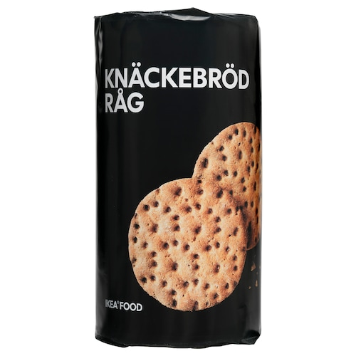 KNÄCKEBRÖD RÅG rye crispbread 9 oz