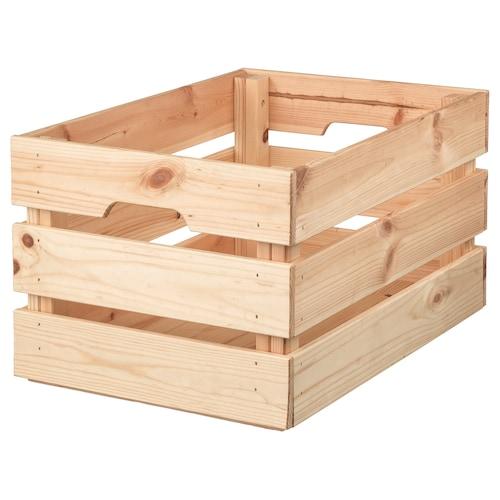 "KNAGGLIG box pine 18 "" 12 ¼ "" 9 ¾ """