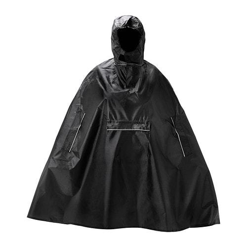 knalla rain poncho black ikea. Black Bedroom Furniture Sets. Home Design Ideas