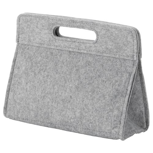 """KNALLBÅGE bag organizer insert felt 9 ¾ """" 4 ¼ """" 7 ¾ """" 1 gallon"""