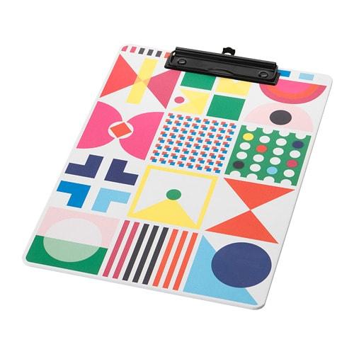 Knallgul Clipboard Multicolor