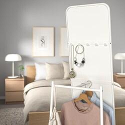 KNAPPER - Floor mirror, white