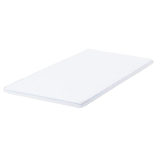 KNAPSTAD Mattress topper, white, Twin