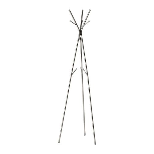 KNIPPE Hat and coat stand, nickel plated