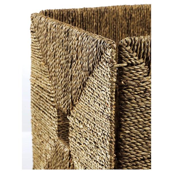 """KNIPSA Basket, seagrass, 12 ½x13x12 ½ """""""