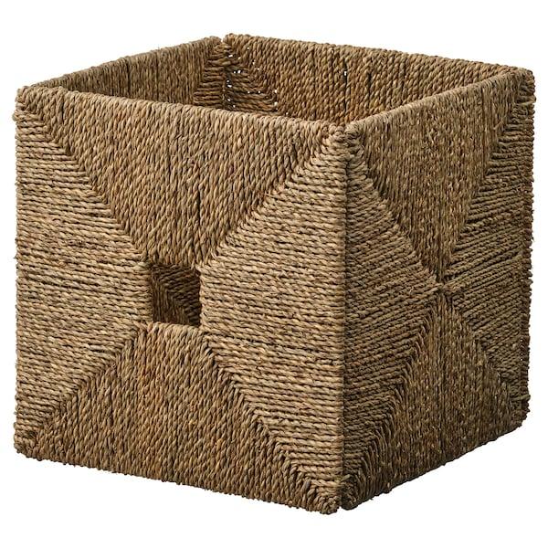 "KNIPSA basket seagrass 12 ½ "" 13 "" 12 ½ """