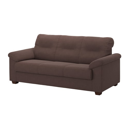 Knislinge sofa samsta dark brown ikea for Sofas de 4 plazas baratos
