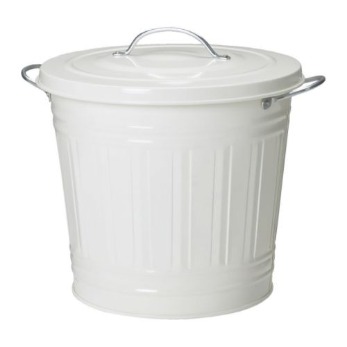 Knodd bin with lid ikea for Ikea trash cans