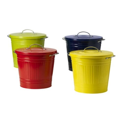 Ikea Kitchen Garbage Can: Ikea, Recycling Bins And Base