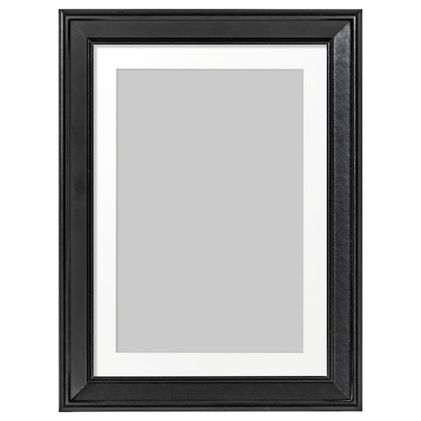 "KNOPPÄNG Frame, black, 5x7 """