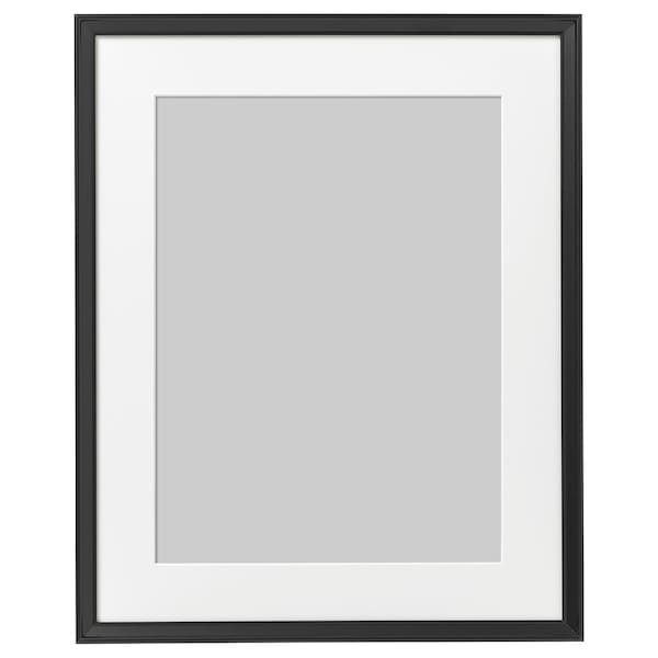 "KNOPPÄNG Frame, black, 16x20 """