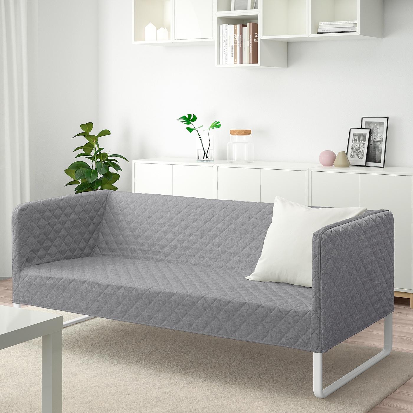 KNOPPARP Sofa, Knisa light gray