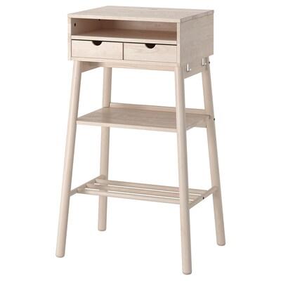 "KNOTTEN standing desk white birch 20 1/2 "" 16 7/8 "" 24 3/8 "" 18 7/8 "" 41 3/8 "" 22 lb"