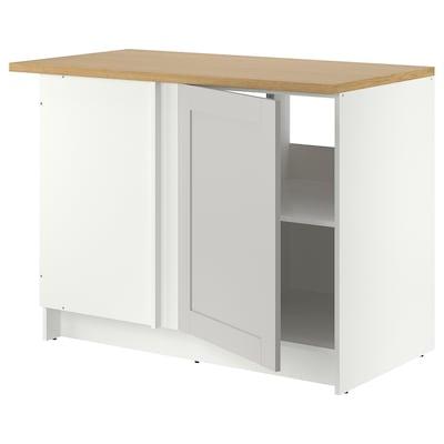 "KNOXHULT Base corner cabinet, gray, 44x24x36 """