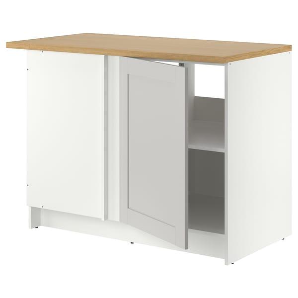 Base corner cabinet KNOXHULT gray