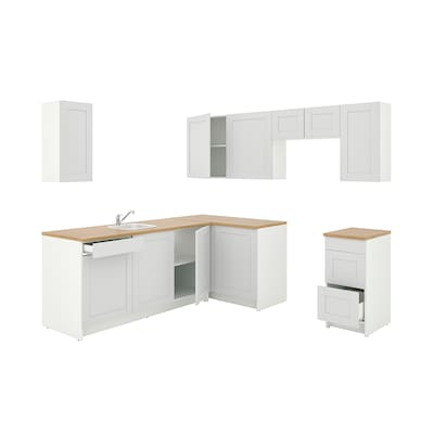 KNOXHULT Corner kitchen, gray
