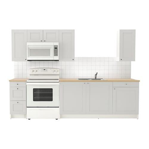 KNOXHULT Kitchen, gray