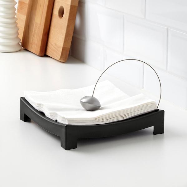 KNYCK Napkin holder, black