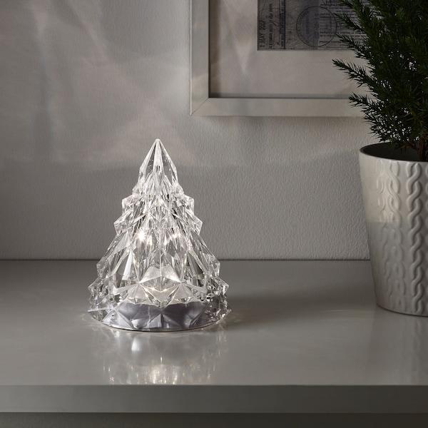 "KÖLDKNÄPP LED decorative light, battery operated, 6 ¼ """