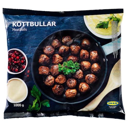 IKEA KÖTTBULLAR Meatballs, frozen