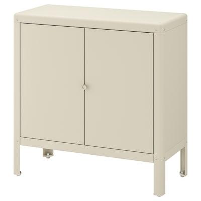 """KOLBJÖRN cabinet, indoor/outdoor beige 31 1/2 """" 13 3/4 """" 31 7/8 """""""
